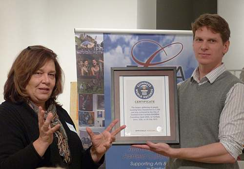 Guinness World Record.